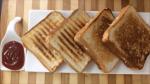 Curd Sandwich for breakfast